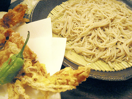 Soft Shell Crab Tempura Soba