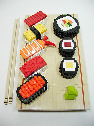 Lego Sushi